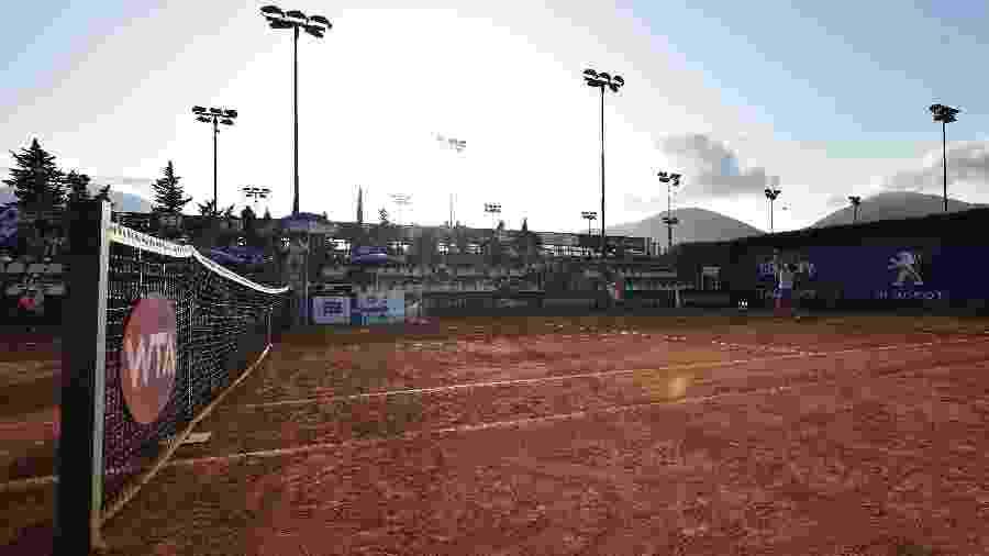 Quadra Central do WTA de Palermo, na Itália - Divulgação/Palermo Ladies Open