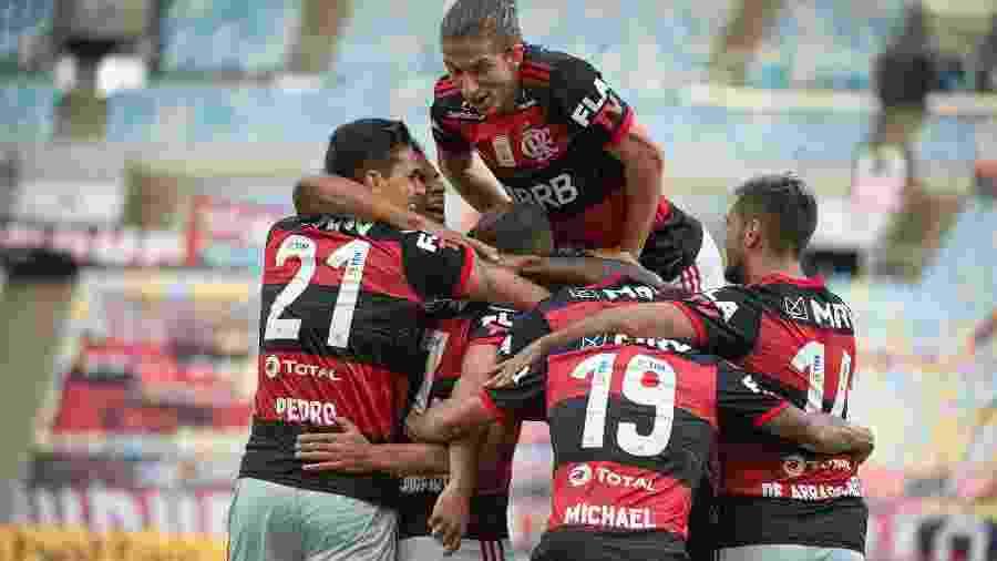 De olho no tri da Libertadores, jogadores do Flamengo têm missão dupla no Equador - Alexandre Vidal / Flamengo