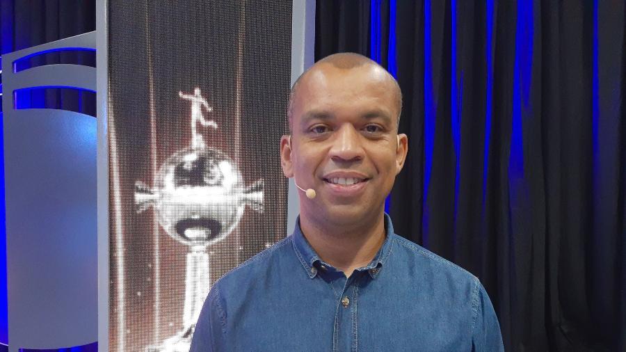 Luiz Alano: narrador ganhou contrato fixo no SBT - Arquivo Pessoal