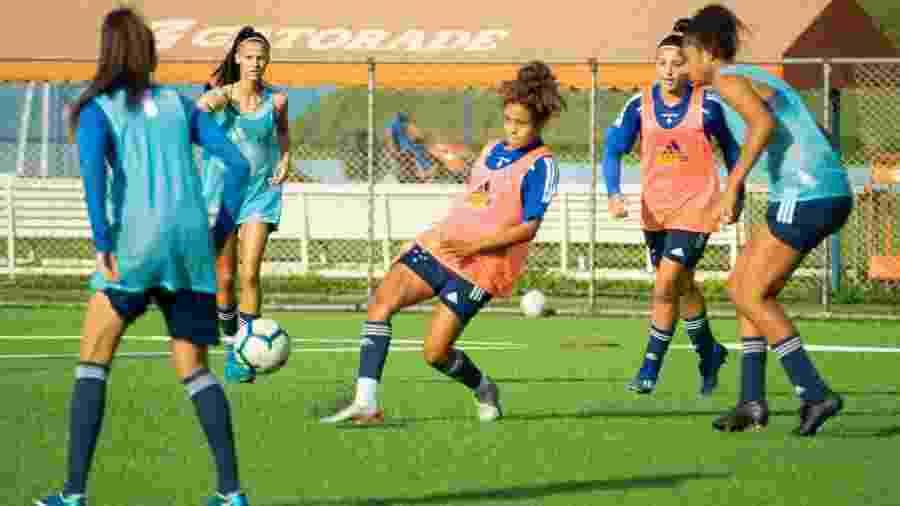 Cruzeiro vai estrear no Campeonato Mineiro feminino com apenas 11 relacionadas - Rodolfo Rodrigues/Cruzeiro