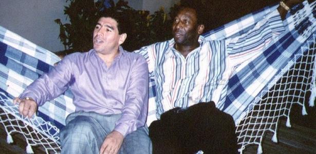 Como nasceu a rivalidade entre Maradona e Pelé - e o que há de verdade nela