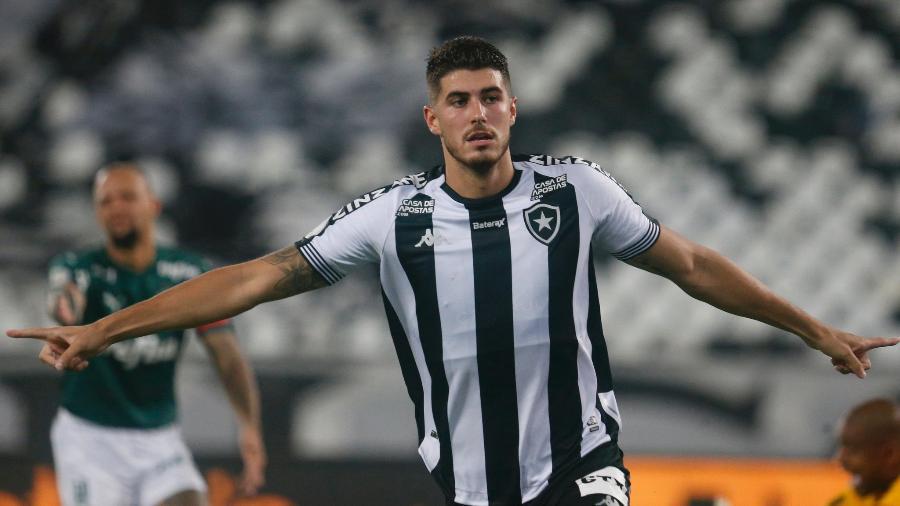 Pedro Raul, atacante do Botafogo - Vitor Silva/Botafogo
