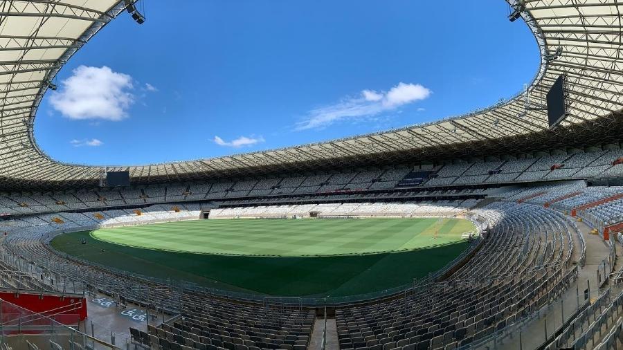 Mineirão tem sido a casa de Cruzeiro e Atlético-MG na temporada 2021 no Campeonato Mineiro - Divulgação/Mineirão