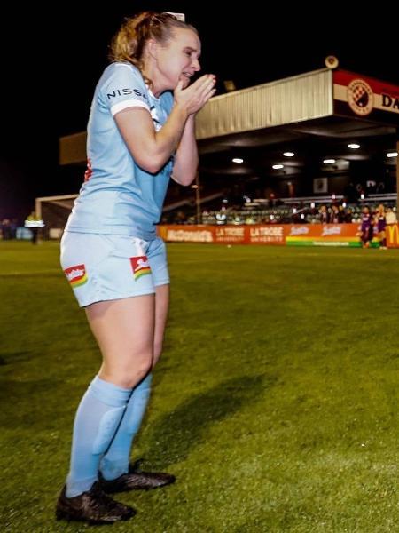 Rhali Dobson, ex-jogadora do Melbourne City - Instagram