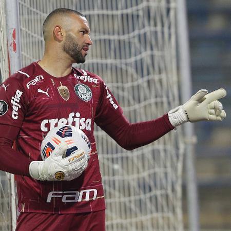 Weverton contra a U. Católica - Staff Images / CONMEBOL