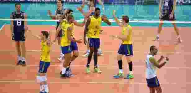 Banco do Brasil seguirá sendo o patrocinador exclusivo do uniforme da seleção brasileira de vôlei de quadra nos próximos quatro anos - Fivb