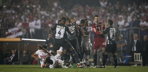 São Paulo e Atlético-MG se enfrentaram pelas quartas de final da Libertadores