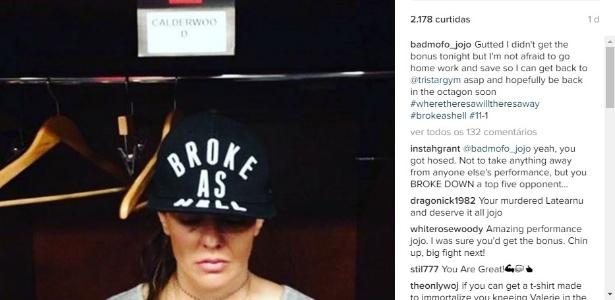 Joanne Calderwood desabafou sobre sua situação financeira em rede social - Reprodução/Instagram