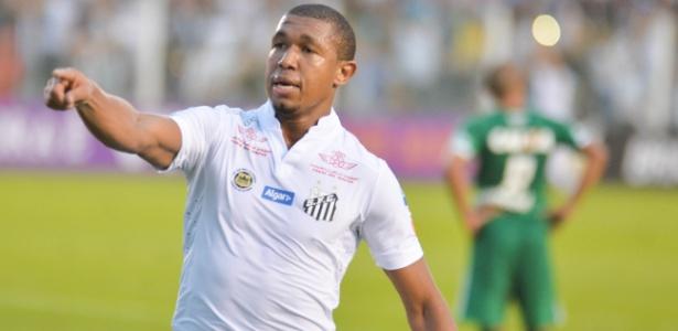 Rodrigão será o centroavante do Santos contra o Sport. Ele não marca há mais de 2 meses