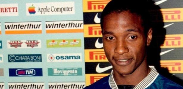 Gilberto chegou à Inter de Milão em 1999, mas não foi bem no time italiano