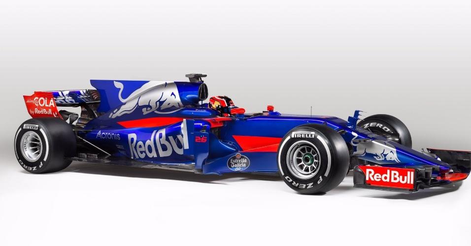 Carro da Toro Rosso para a temporada 2017 da Fórmula 1