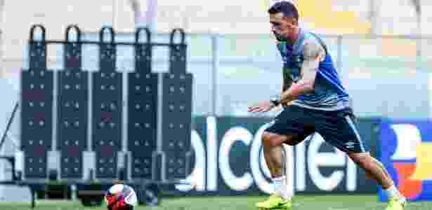 Lateral foi um dos poucos titulares a jogarem no Paraguai e em Novo Hamburgo - Lucas Uebel/Grêmio