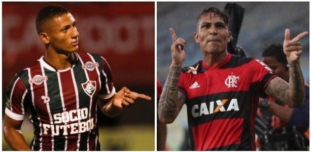 O tricolor Richarlison e o rubro-negro Guerrero brigam por título e artilharia no Rio
