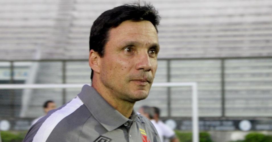 Zé Ricardo entra em campo para acompanhar Vasco x Grêmio