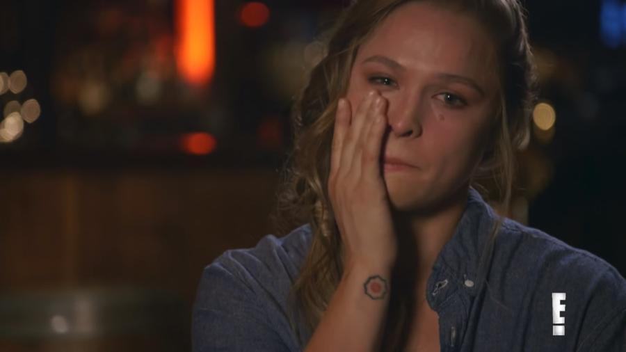 Ronda contou que demorou para se recuperar emocionalmente das derrotas no UFC - Reprodução