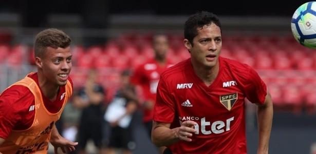 O zagueiro Anderson Martins é um dos jogadores pendurados do São Paulo - Rubens Chiri / saopaulofc.net