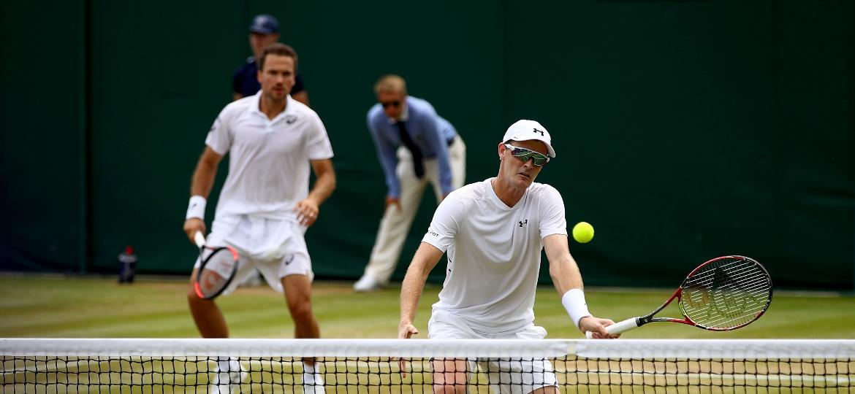 d18f3ed41cd Brasileiro Bruno Soares avança às quartas no torneio de duplas de Wimbledon