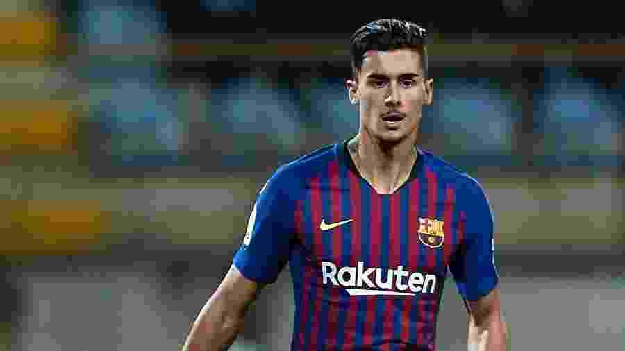 """Juan Brandariz, o """"Chumi"""", em ação pelo Barcelona contra o Levante - Quality Sport Images/Getty Images"""