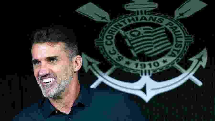 Vagner Mancini conseguiu vencer o Corinthians na Arena quando treinava o Vitória - Daniel Vorley/AGIF