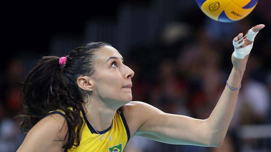 Sheilla Castro, jogadora de vôlei - Elsa/Getty Images