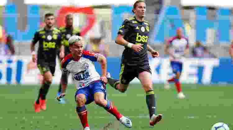 Filipe Luís estreou contra o Bahia - Felipe Oliveira / EC Bahia