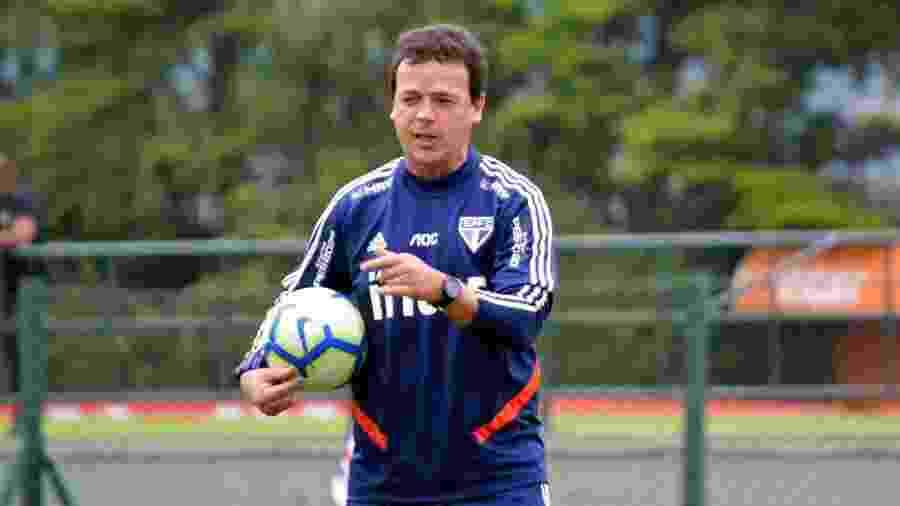 Técnico Fernando Diniz do São Paulo -  Érico Leonan / saopaulofc.net