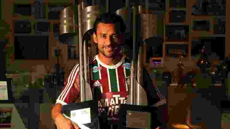 Fred foi bicampeão brasileiro pelo Fluminense - Nelson Perez/Fluminense FC - Nelson Perez/Fluminense FC