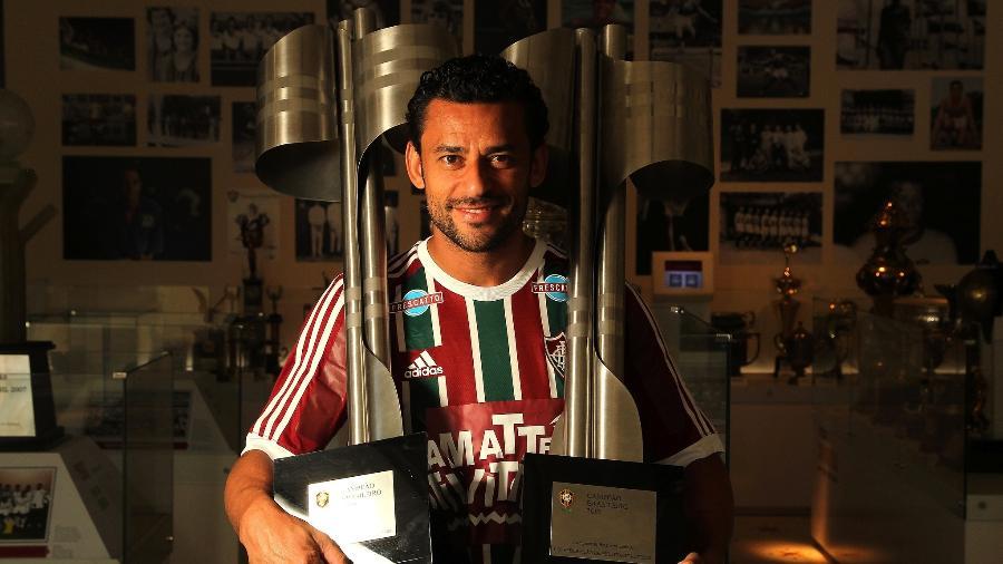 Fred conquistou dois Campeonatos Brasileiros pelo Fluminense - Nelson Perez/Fluminense FC
