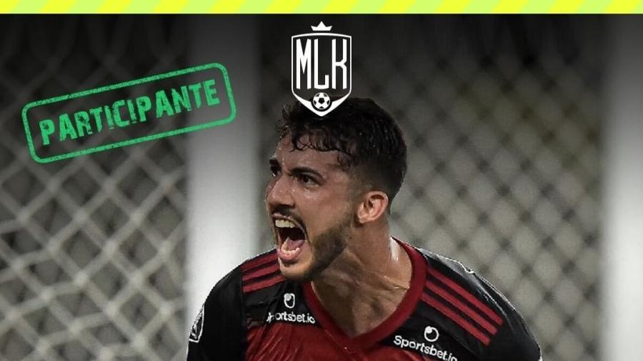 Zagueiro Gustavo Henrique representa o Flamengo no Torneio Futebol Muleke
