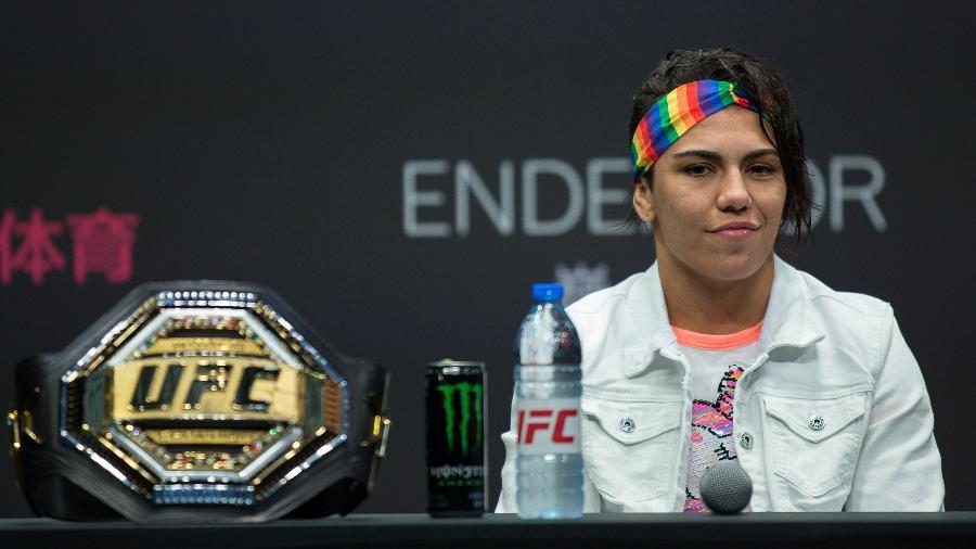 Jessica Bate-Estaca Andrade antes da luta do UFC de Shenchen, na China, em junho de 2019 - Yifan Ding/Getty Images