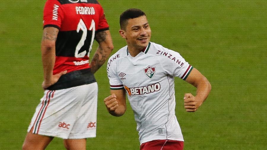 André foi heroi do Fluminense contra o Flamengo e ganha vaga contra o Ceará pelo Brasileirão - Miguel Schincariol/Getty Images