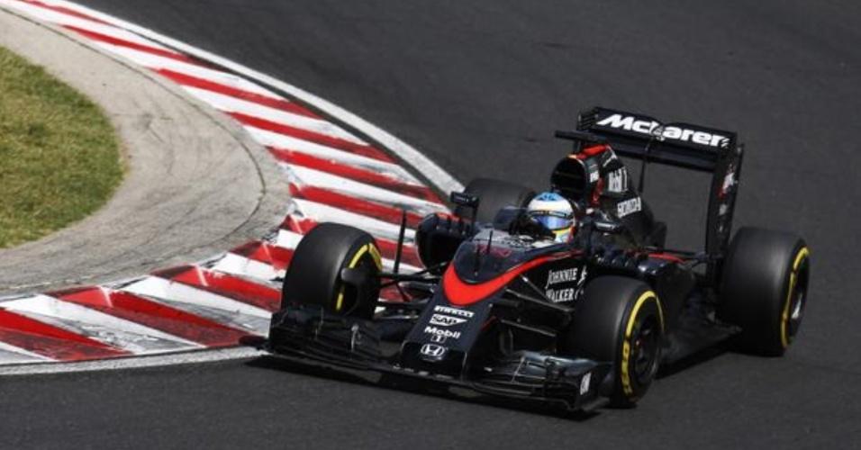 Fernando Alonso conquistou o quinto lugar no Grande Prêmio da Hungria de Fórmula 1
