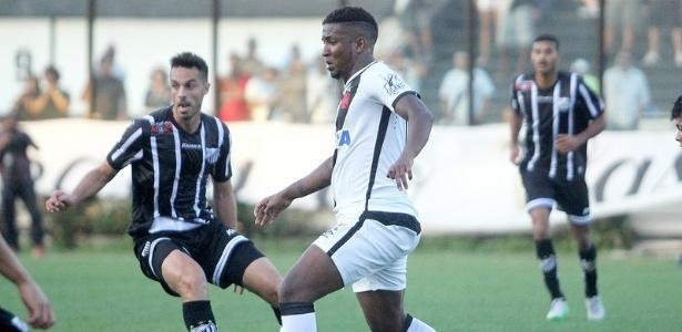 No primeiro turno, Vasco venceu o Bragantino por 2 a 1 em São Januário
