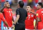 Chile irá apelar de suspensão imposta pela Fifa por cantos homofóbicos - Guillermo Granja/Reuters