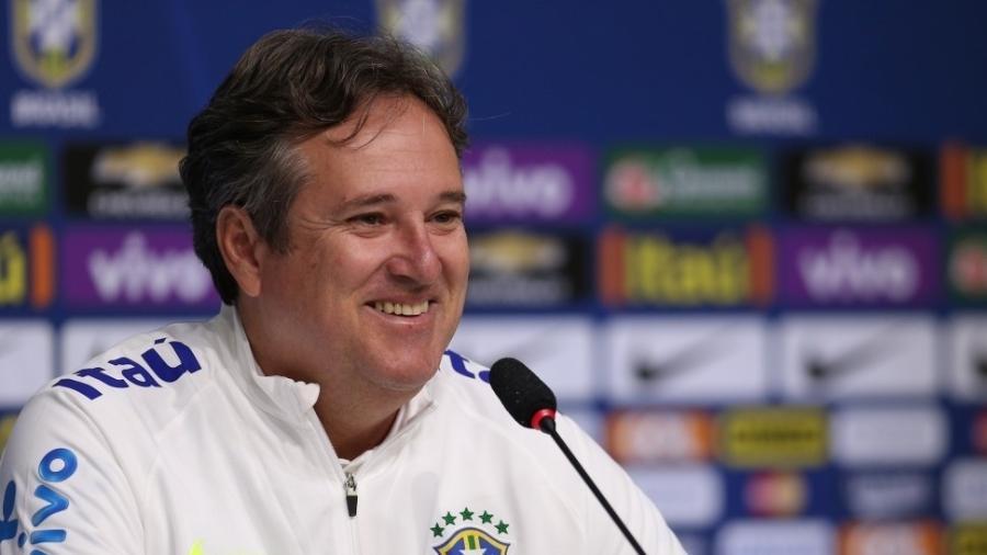Ex-coordenador de base da CBF, Erasmo Damiani pode assumir as divisões inferiores do São Paulo -  Lucas Figueiredo / MoWA Press