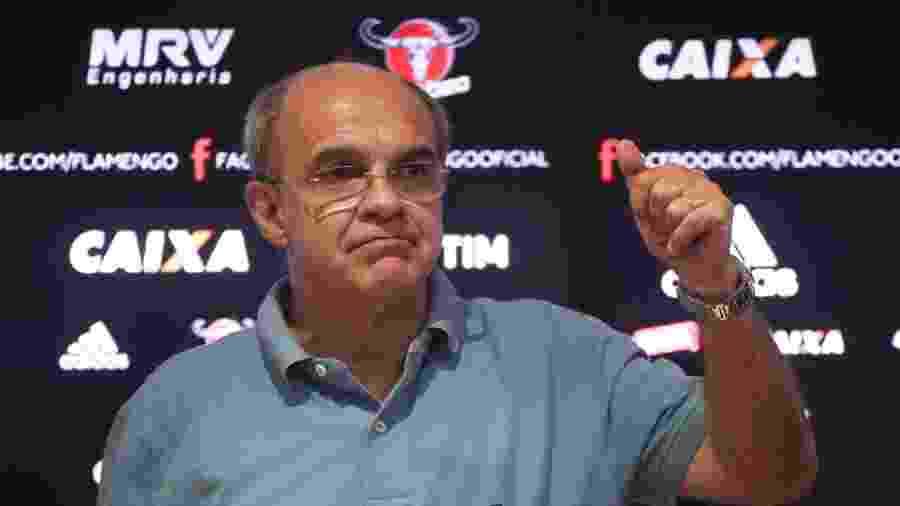 O ex-presidente Eduardo Bandeira de Mello pode ficar inelegível no Flamengo - Gilvan de Souza/ Flamengo
