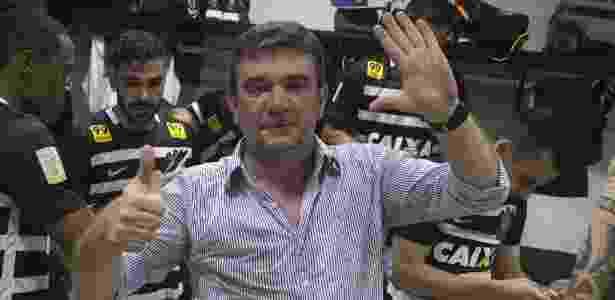 Sanchez celebra o hexacampeonato brasileiro no Rio - Daniel Augusto Jr/Agência Corinthians - Daniel Augusto Jr/Agência Corinthians