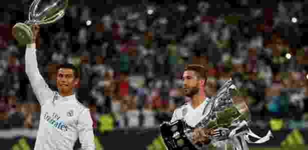 Ronaldo e Sergio Ramos - REUTERS/Javier Barbancho - REUTERS/Javier Barbancho