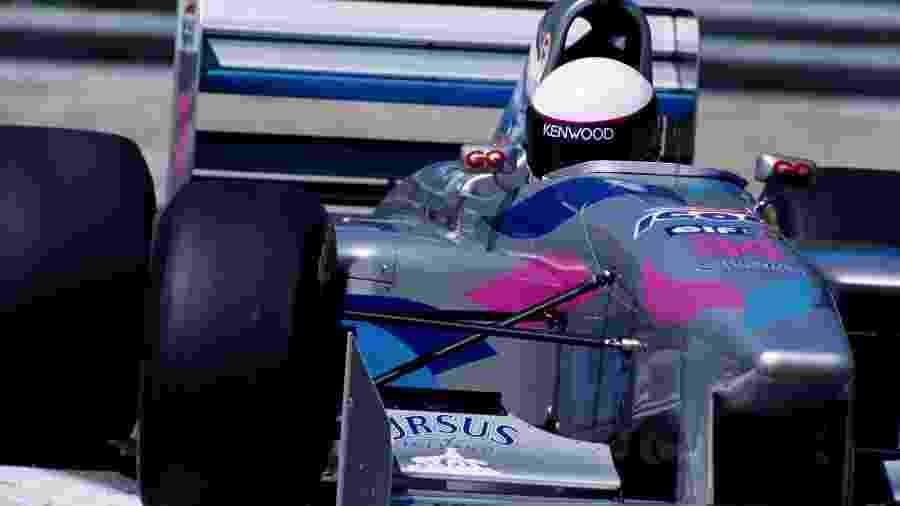 Equipe Pacific chegou à Fórmula 1 depois de sucesso nas categorias de acesso. Meta era conquistar o título mundial em 2000 - Anton Want/Getty Images