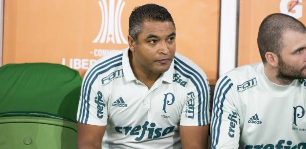 Roger Machado comanda Palmeiras contra o Boca Juniors pela Copa Libertadores - Rubens Cavallari