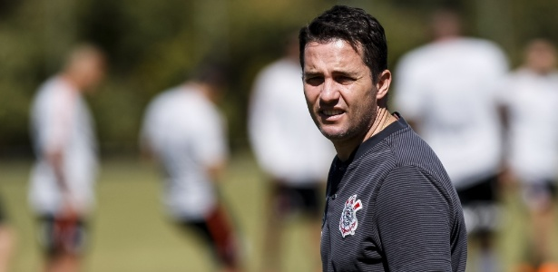 Ex-treinador e atual auxiliar do Corinthians esteve no CT nesta segunda-feira - Rodrigo Gazzanel/Agência Corinthians