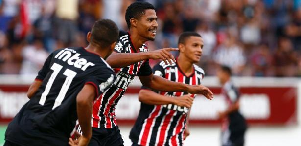 Gabriel Novaes já tem seis gols e briga para ser artilheiro da Copa São Paulo - Thiago Calil/AGIF