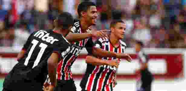 Gabriel Novaes foi campeão e artilheiro da Copinha com dez gols marcados - Thiago Calil/AGIF