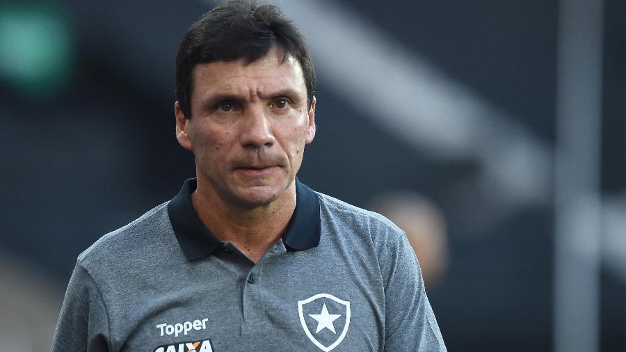Zé Ricardo tem a responsabilidade de ainda tentar levar o Botafogo aos jogos decisivos do Campeonato Carioca - Thiago Ribeiro/AGIF