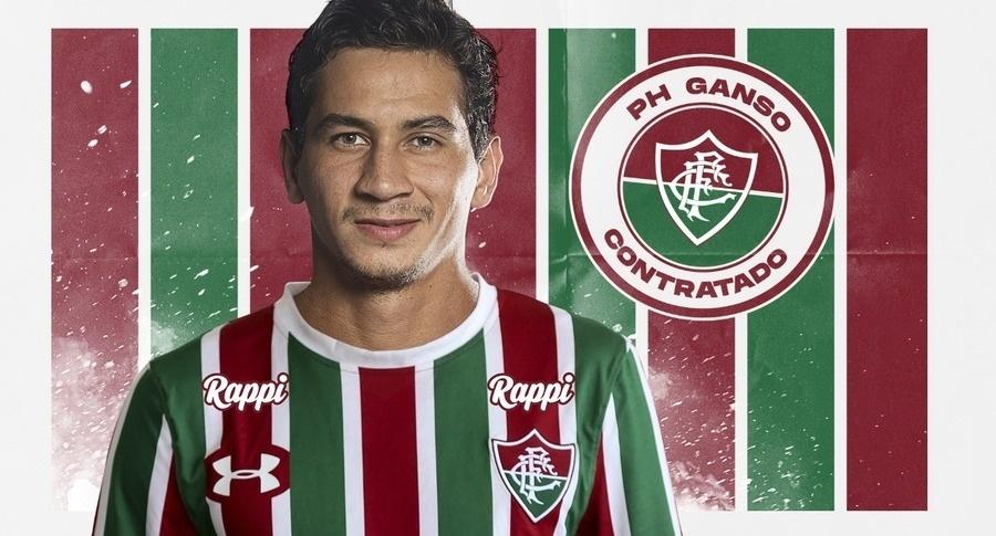 Paulo Henrique Ganso é reforço do Fluminense