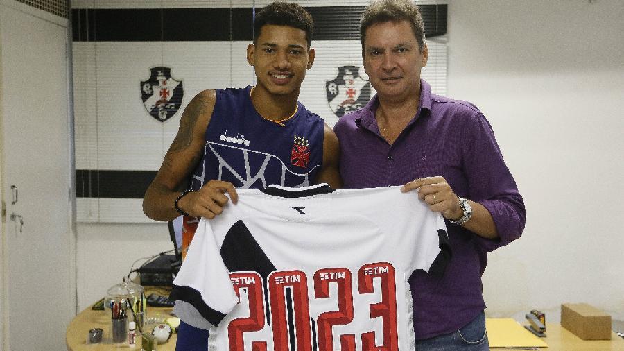 Vasco terá patrocínio pontual na parte superior de trás de sua camisa - Rafael Ribeiro/Vasco