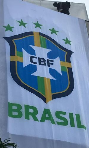 Seleção brasileira logo CBF