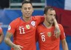 Chile vence o Equador e garante vaga nas quartas da Copa América - Raul Arboleda/AFP