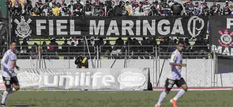 Corinthians disputou amistoso contra o Londrina na cidade de Maringá, interior do Paraná, no último domingo (7) - Daniel Augusto Jr/Ag. Corinthians