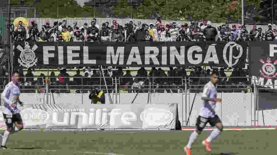 Corinthians disputou amistoso contra o Londrina na cidade de Maringá - Daniel Augusto Jr/Ag. Corinthians